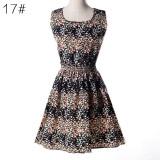 Rochie pentru femei, imprimeu - rochie2 - Costum dama, Marime: S, M, L