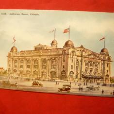 Ilustrata SUA -Colorado- Denver -Auditorium, inc.sec.XX, Necirculata, Printata