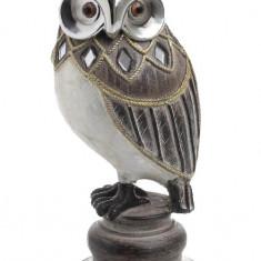 Bufnita auriu/argintiu color 7.5x7x17.5 cm, Cod Produs:2236 - Figurina/statueta