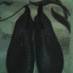 Papuci de baie Aquarapid - Papuci copii, Marime: 40, Culoare: Negru