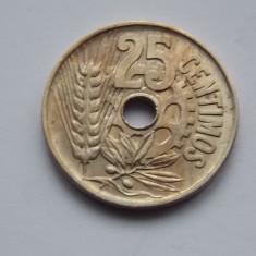 25 CENTIMOS SPANIA 1934, Europa