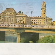 Bnk cp Oradea - Vedere - circulata - Carte Postala Crisana dupa 1918, Printata
