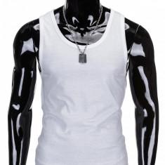 Maiou pentru barbati S708 - alb - Tricou barbati, Marime: L