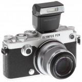 Aparat foto mirrorless Olympus Pen-F, kit cu Zuiko 17 mm - Aparate foto Mirrorless