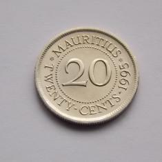 20 CENTS 1995 MAURITIUS UNC, Australia si Oceania