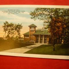 Ilustrata SUA -Oras Miller Beach Indiana, inc.sec.XX, Necirculata, Printata