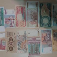 Lot bancnote circulate, Europa