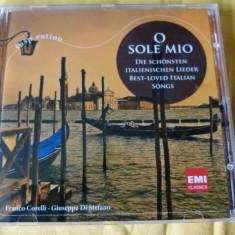 O sole mio - cd - Muzica Clasica emi records