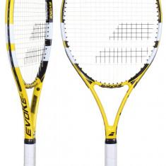 Evoke 102 2015 Racheta tenis de camp Babolat galben L3, SemiPro, Adulti, Aluminiu/Compozit