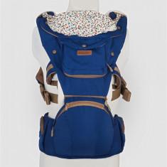Port bebe Coccolle Cara, albastru inchis - Ham bebelusi DHS