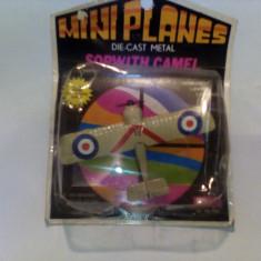 Bnk jc Mini planes Mandarin - Sopwith Camel - ambalaj original, nedesfacut - Macheta Aeromodel