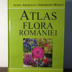 ATLAS FLORA ROMANIEI de AUREL ARDELEAN, GHEORGHE MOHAN, 2012 - Carte Biologie