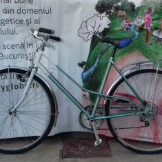 Bicicleta Dama Bergamont KALKOFF, 18 inch, 28 inch, Numar viteze: 6