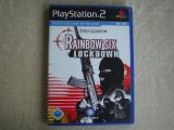 RAINBOW SIX - Lockdown - Joc Playstation PS 2 Original ca NOU