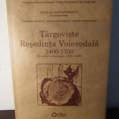 Târgovişte reşedinţa voievodală 1400-1700. Cercetări arheologice (1961-1986) - Istorie
