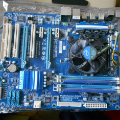 Kit i5 750+placa baza soket 1156 +8gb dd3 dual la 1600 - Placa de Baza Gigabyte, Pentru INTEL, DDR 3, Contine procesor