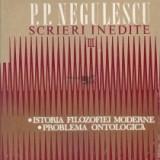 P.p. negulescu scrieri inedite vol iii - Filosofie
