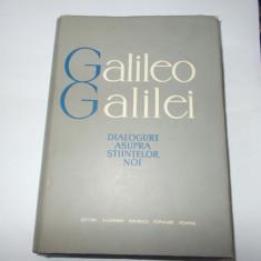 Galileo Galilei - Dialoguri asupra stiintelor noi