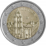 NOU - Lituania moneda 2 euro 2017 - Vilnius capitala cultural europeana - UNC, Europa