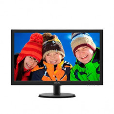 Monitor Philips 223V5LSB2/62 Full HD 21.5 inch Black, 1920 x 1080