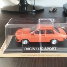 Macheta metal dacia 1410 sport - masini de legenda romania - Macheta auto, 1:43