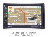 Navigatie Auto 7inch GPS Harti IGO DVD Casetofon Player  Mp3 MirrorLink USB 2DIN