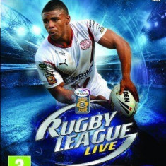 RUGBY League LIVE - XBOX 360 [Second hand] - Jocuri Xbox 360, Sporturi, 16+, Multiplayer