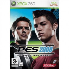 PES 2008 - Pro Evolution Soccer  - XBOX 360 [Second hand], Sporturi, 12+, Multiplayer