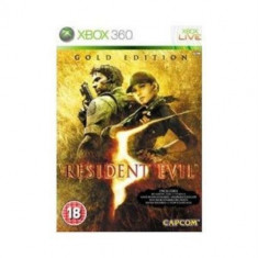 Resident Evil 5 Gold Edition  - XBOX 360 [Second hand], Actiune, 18+, Multiplayer