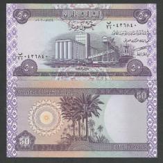 IRAK IRAQ 50 DINARS DINARI 2003 UNC [1] P-90, necirculata - bancnota asia