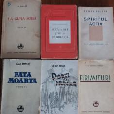 Lot 6 carti vechi autori romani / R5P3S - Carte veche