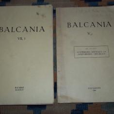 Revista Balcania VII 1 1944 si V 1 1946 Elian Contributia greceasca l...