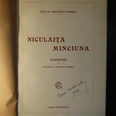 NICULAITA MINCIUNA de IOAN AL BRATESCU-VOINESTI 1922