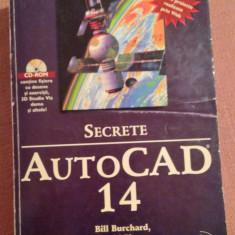 Autocad 14. Secrete (Fara CD) - B. Burchard, D. Pitzer, F. Soen - Manual Autocad, Teora