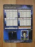 MRHAB LC - ALBUM STICKERE - UEFA - LIGA CAMPIONILOR EUROPENI - ED 2009 - 2010