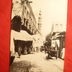 Ilustrata Cairo str. Musky Egipt inc.sec.XX, Necirculata, Printata