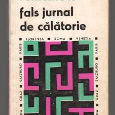 (C7862) JURNAL DE CALATORIE DE A.E. BACONSKY. FLORENTA, ROMA, VENETIA, PARIS.... - Carte de calatorie