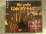 THE GREAT COUNTRY FESTIVAL - 3 C D Originale, CD