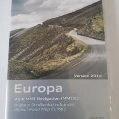 CD DVD navigatie AUDI Europa versiunea 2014 MMI3G - Software GPS