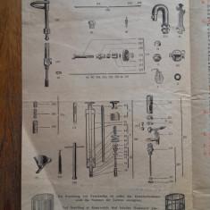 PETROMAX RAPID, INSTRUCTIUNI DE UTILIZARE, CCA 1940 - Pliant Meniu Reclama tiparita