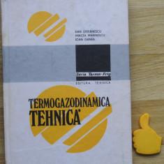 Termogazodinamica tehnica Dan Stefanescu - Carti Energetica