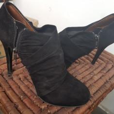 "Botine "" Zara"", 38, Negru"