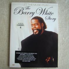 THE BARRY WHITE STORY - Let The Music Play - DVD Original - Muzica Blues