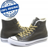 Pantofi sport Converse Chuck Taylor All Star Leather pentru barbati - originali, 37, 37.5, 38, 39, 41, 44, Piele naturala