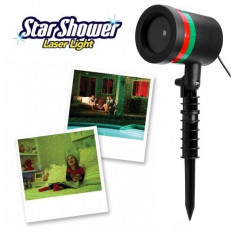 BLACK FRIDAY! LASER EXTERIOR STAR SHOWER LASER LIGHT,DECOREAZA MINUNAT,EXTERIOR.