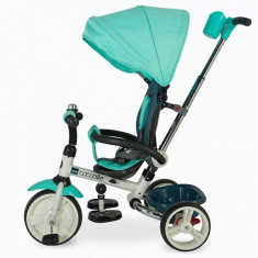 Tricicleta Coccolle Urbio pliabila verde - Tricicleta copii DHS