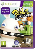 Rabbids - Alive and Kicking - KINECT  - XBOX 360 [Second hand] fm, Actiune, 3+, Multiplayer