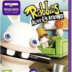 Rabbids - Alive and Kicking - KINECT - XBOX 360 [Second hand] fm - Jocuri Xbox 360, Actiune, 3+, Multiplayer