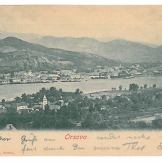 4130 - ORSOVA - old postcard - used - 1904