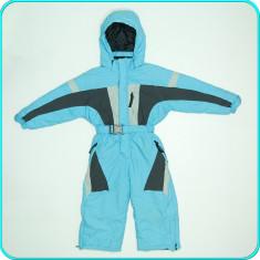 Salopeta-combinezon iarna, impermeabila, groasa, WS-LINE→ baieti | 3-4 ani | 104, Marime: Alta, Culoare: Turcoaz